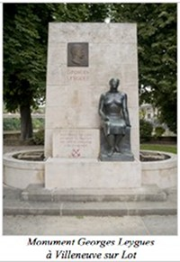 Monument Georges Leygues à Villeneuve sur Lot